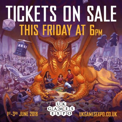 UK Games Expo Tickets