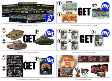 Warlord Games Black Friday