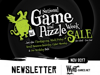 Wyrd Games Black Friday