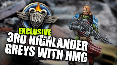 Exclusive Infinity Sneak Peek: 3rd Highlander Greys With HMG