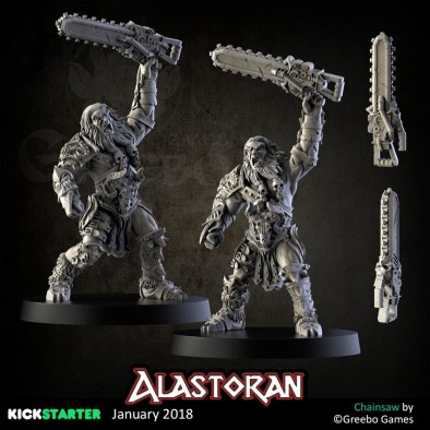 Alastoran Chainsaw Warrior