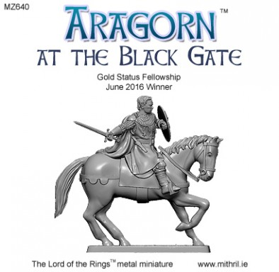 Aragorn At The Black Gate