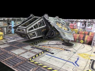Battle Systems Core Space Ship #1