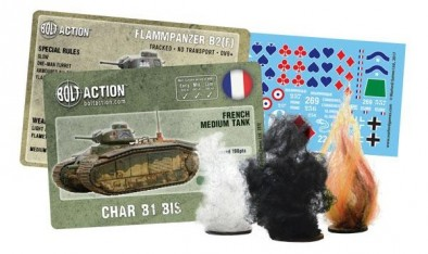 Bolt Action Char B1 bis Markers