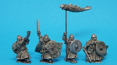Conqueror Models - Dwarf Command (Metal)