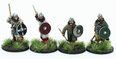 Footsore Miniatures Irish Fianna Set 2