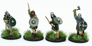 Footsore Miniatures Irish Fianna Set 1