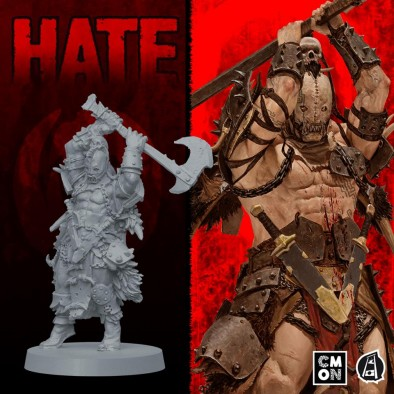 HATE Warrior #1