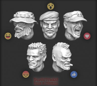 Infantry Heads