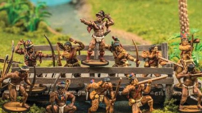 Firelock Games Preview Native American Box For Blood & Plunder