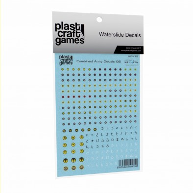 Plast Craft Combined Army Decals #2