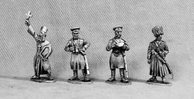 Russian Command Group - Russo-Japanese War