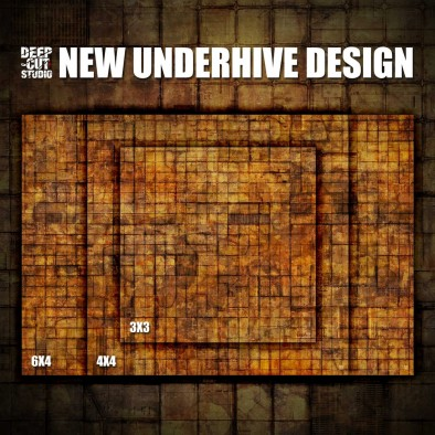 Underhive Game Mat (Sizes)