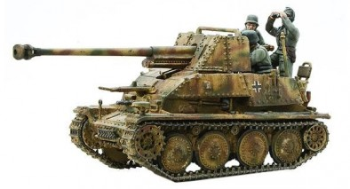 Warlord Bolt Action Marder III Ausf. H Tank Destroyer Front