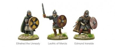 Warlord Games Hail Caesar Saxon Earls and Kings 11th Century