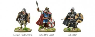 Warlord Games Hail Caesar Saxon Kings 9th Century