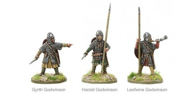 Warlord Games Hail Caesar Saxon Leaders Battle of Hastings