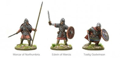 Warlord Games Hail Caesar Saxon Leaders Battle of Stamford Bridge