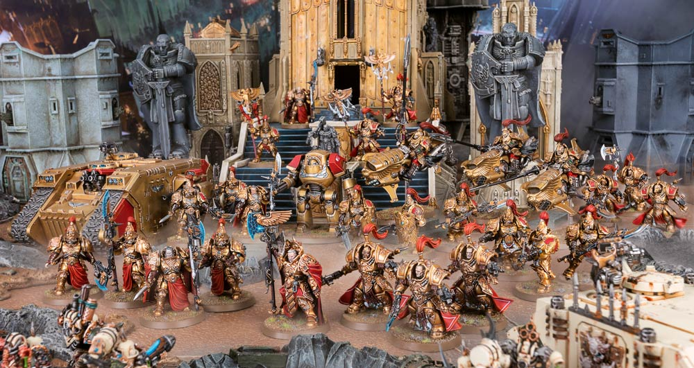 Adeptus Custodes Bring The Emperor's Might To Warhammer