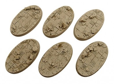 Ancient Oval Bases - Micro Art Studio