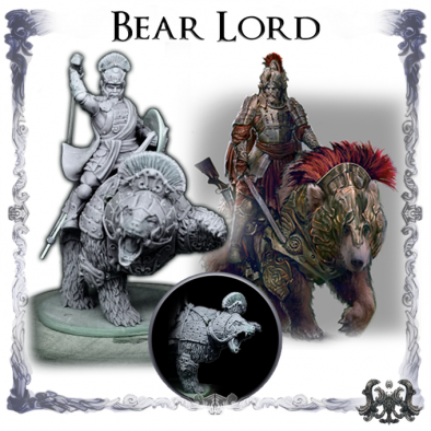Bear Lord - Wolfthorn Miniatures