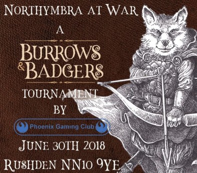 Burrows & Badgers Tournament