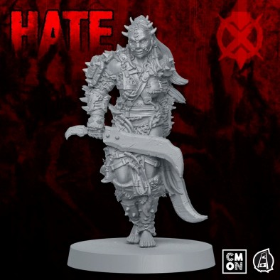 CMON Hate Preview Um'Cal Tribe Warrior Render 2