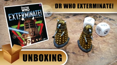 Unboxing: Dr Who Exterminate!