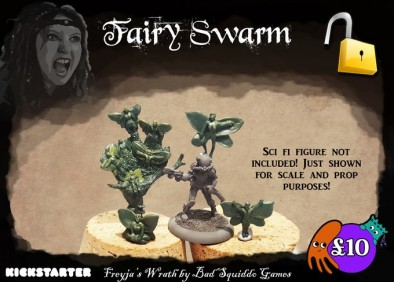 Fairy Swarm Stretch Goal - Bad Squiddo Games