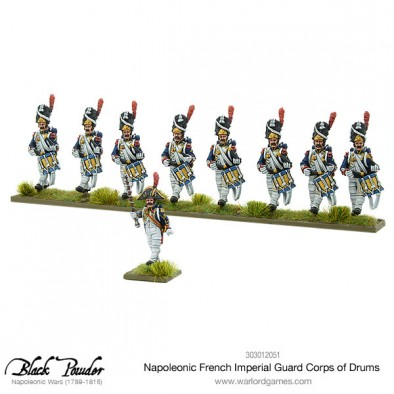 French Imperial Guard Corps Of Drums
