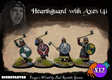 Hearthguard With Axes