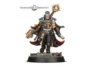 Inquisitor Gregor Eisenhorn (No Art) - Warhammer 40K