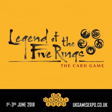 Legend Of The Five Rings - UK Games Expo