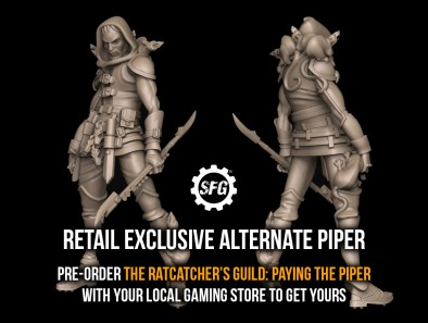 Retail Exclusive Alternate Piper - Ratcatcher Pre-Order
