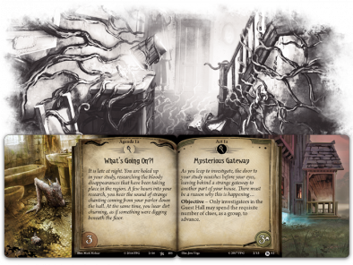 Return To The Night Of The Zealot - Arkham Horror (Objective)