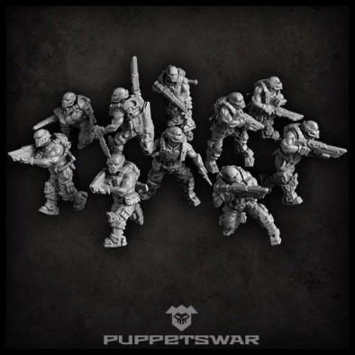 Shadow Hounds (Alt) - Puppets War