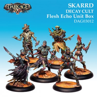 Skarrd Decay Cult Flesh Echo - Dark Age