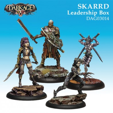 Skarrd Leadership - Dark Age