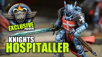 Exclusive Infinity Sneak Peek! PanOceania Knights Hospitaller