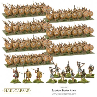 Spartan Starter Army - Warlord Games