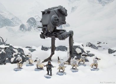 Star Wars Legion - AT-ST Scale