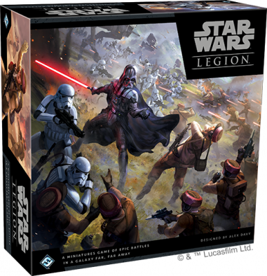 Star Wars Legion Main Box