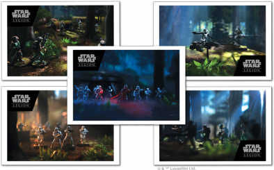 Star Wars Legion Pre-Order Prints