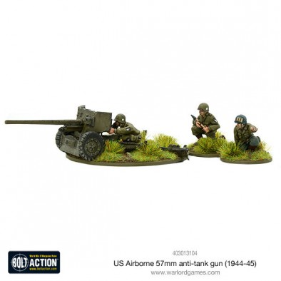 US Airborne 57mm Anti-Tank Gun - Bolt Action