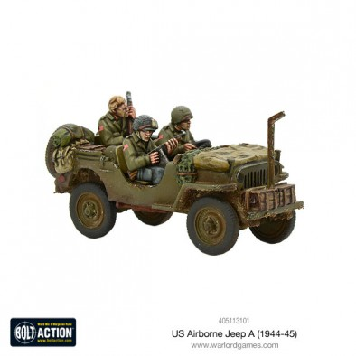 US Airborne Jeep - Bolt Action