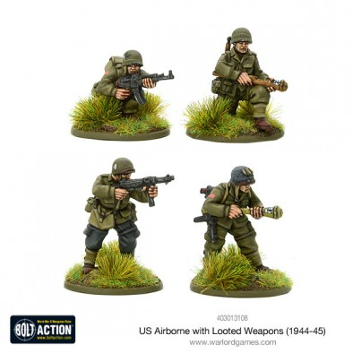 US Airborne With Looted Weapons - Bolt Action