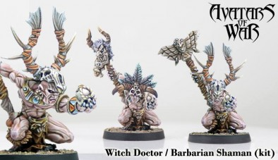 Witch Doctor & Barbarian Shaman - Avatars Of War