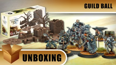 Guild Ball Unboxing: Blacksmiths Guild Set & Mason and Brewers Terrain