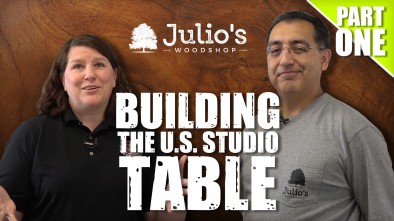 Building The US Studio Table: Part One