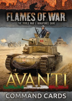 Avanti Command Cards - Flames Of War
